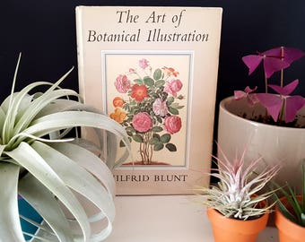 1971 The Art Of Botanical Illustration Hard Cover Book