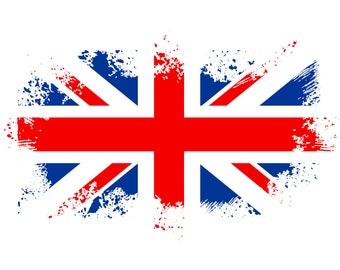 Union jack SVG, England flag SVG, British flag svg, Union flag svg, Distressed, Grunge, SVG, Graphics,Illustration,Logo,Digital