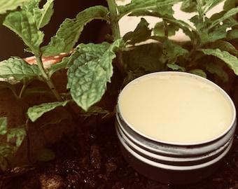 Vegan Friendly Peppermint Lip Balm - Beeswax free