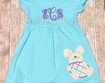 Easter Dress, Toddler Easter Dress, Easter Bunny Dress, Easter Bunny Outfit, Girls Easter Dress, Girls Easter Shirt, Girls Easter Outfit