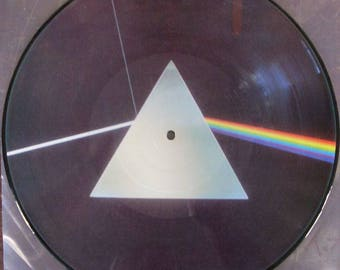 PINK FLOYD Dark Side Of The Moon Picture Disc LP Vinyl Record Mint Brand New Rare Spain Pressing Roger Waters David Gilmour