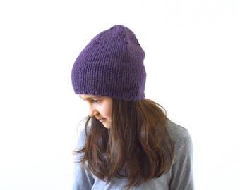 Kids Knit Slouchy Hat Beanie Toque, Children Slouchy Beanie, Boys Girls Beanie Hat | The Newry
