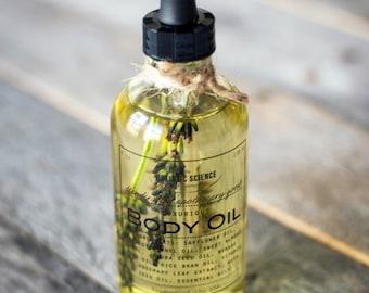 Bath & Body Oil: Lavender, 4oz