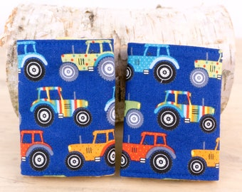 Baby Carrier Strap Covers -Stroller Strap Cover -Teething Pad -Teething Cover -Tractor -Ergo -Ergo360 -Ergo Carrier -Strap Cover -Reversible
