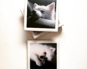 Personalised Ceramic Coasters | Custom Coaster | Hostess Gift | Personalised Christmas Gift | Keepsake Gift