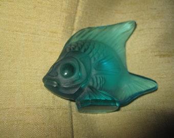 Fisch Glas Lalique Vintage guter Zustand