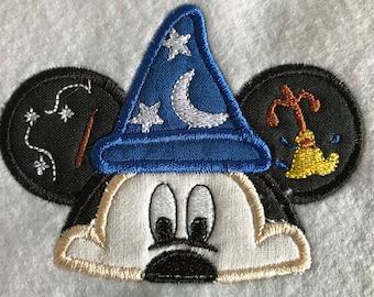 "Applikation / Patch ""Sorcerer Mickey"""