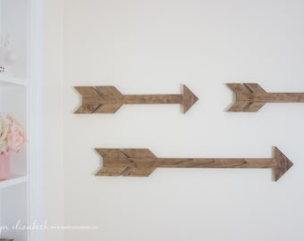LARGE Individual Wooden Arrow | Boho Arrow