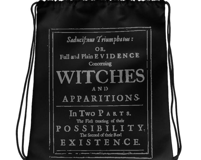 VVITCHES drawstring bag