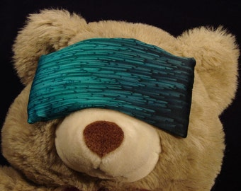 Emerald Green Hand Dyed Silk Eye Pillow