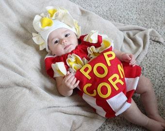 Baby Popcorn Costume Toddler Newborn Halloween Costume Photo Prop Cute Costume Funny Halloween Costume Kids Costume Infant Costume Boys  sc 1 st  Etsy & Funny baby costume | Etsy