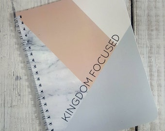 Kingdom Focused Notebook