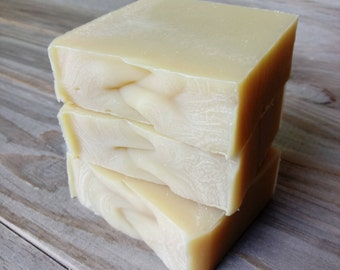 Sweet Orange + Patchouli Shea Butter Soap | Coconut Milk Soap | Handmade Cold Process Soap | Michigan Farm Soapmaker | All Natural