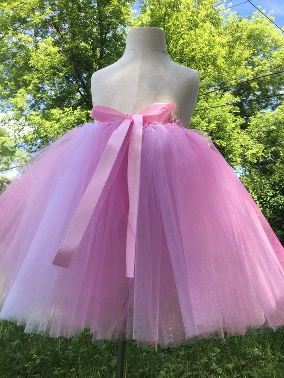 Rosa Tutu Rock Sommer Rock Prinzessin Rock Designer Kleid