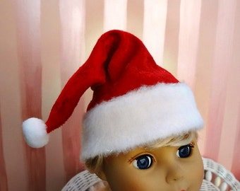 Santa Hat - 18 inch Doll Clothes