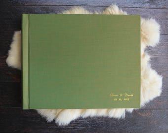 Linen 12x9 Photo Album (Horizontal)
