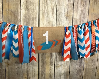 Surfboard Birthday, First Birthday ,Surfboard High Chair Banner, Surfboard Birthday Banner, Surfboard 1st Birthday, High Chair Banner