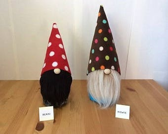 Bean And Hewie - Nordic Style Gnomes