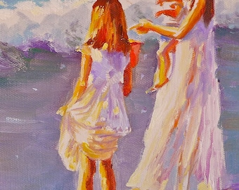 SPECIAL REQUEST PAINTING ,  custom painting, original art by Cecilia Rosslee