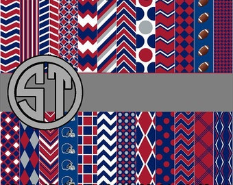 Red, White and Blue printed indoor, outdoor, glitter and metallc decal VINYL and heat transfer vinyl HTV and applique FABRIC