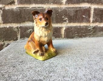 Lassie - A Ceramic Collie Dog
