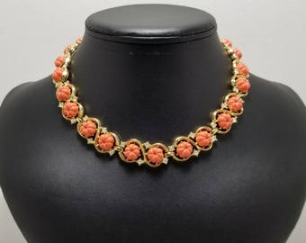 TRIFARI Faux Coral Necklace