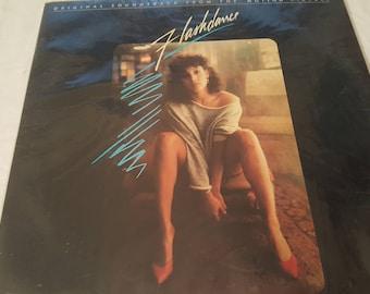 LP Album Record Flashdance Original Movie Soundtrack Jennifer Beals Polygram Records 1983 Stereo