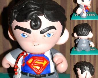 Custom 7' Munny (Superman, batman)