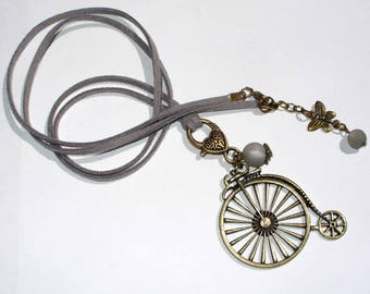 Long grey velocipede Kit and its instructions