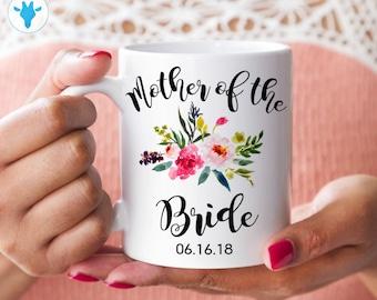 Mother of the Bride Mug, Personalized Gift,  Gift for Mom, Coffee Mug, Wedding Mug, Wedding Gift, Custom Wedding Gift, Bachelorette party