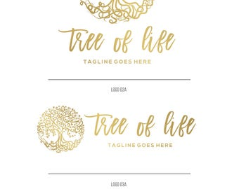 Tree logo, Holistic logos, Premade small business logo, Nature logo, Photography logos and watermarks, Premade logo Custom branding kit 052
