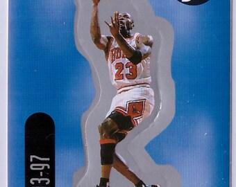 1998 MICHAEL JORDAN Upper Deck Basketball INSERT Sticker 13