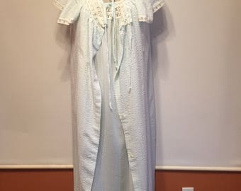 vintage night gown and robe