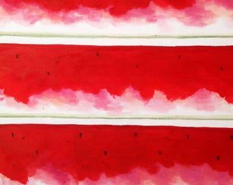 Watermelon Spread - Canvas Paint