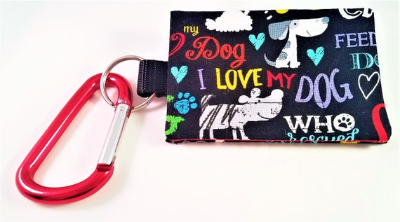 Bag Buddy - Poo Bag Holder / Dog Mess Bag Carrier / Poo Bag Holder / Leash Purse / Leash Pouch / Pet Waste / Dog Poop