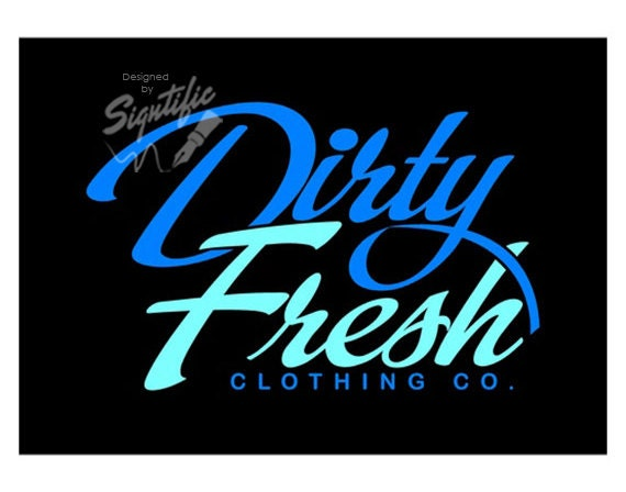 Custom clothing logo, clothing line logo design, blue and teal logo, professional and affordable logo, unique logo, elegant logo design