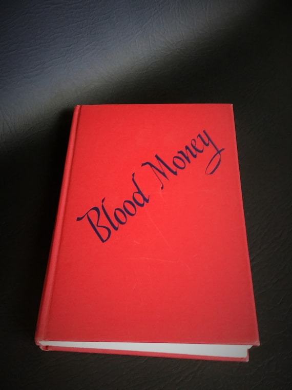 Book Blood Money 1st Edition 1947 Like New
