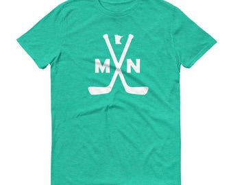 Minnesota Hockey - MN Hockey - Short-Sleeve T-Shirt