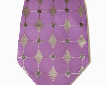 Tie handpainted.Unique tie.Necktie for man.Single copy.Silk tie.Gift for man.Necktie pattern.