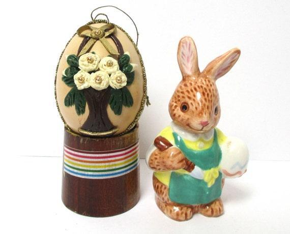 Hanging Easter Egg Ornament Vintage