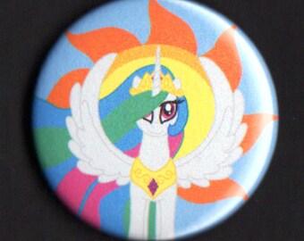 1.75 inch Princess Celestia Button