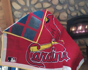 Cardinals Quilted Throw