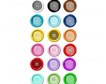 sewing buttons clip artbutton clipartsew clipart rh etsy com