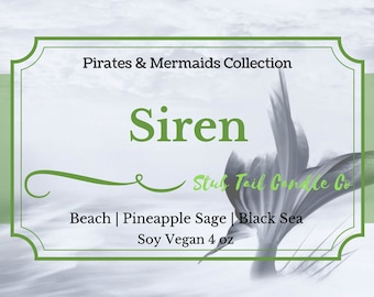 Siren - Scented Soy Candle