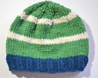 Organic Cotton and Wool Hat size 3 months to 6 months