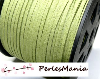 2 m PG124 quality green suede cord