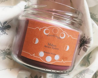 Solstice Candles // Witchcraft // Books // Magic // Bookish Candles