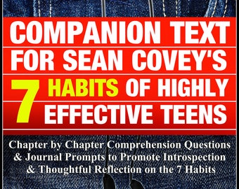 LA| Homeschool| 14 Week Unit| Social Skills| Lesson Plans| Unit Plans| 7 Habits of Highly Effective Teens|  Health| Character Education