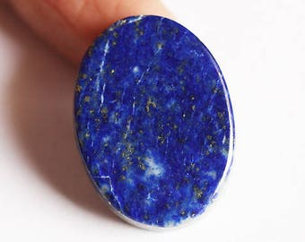 A One Quality Natural Dark Blue Lapis Lazuli Cabochon, Gemstone From Afghanistan, Crystal Healing, Minerals, Jewellery Craft Supplies, 3041