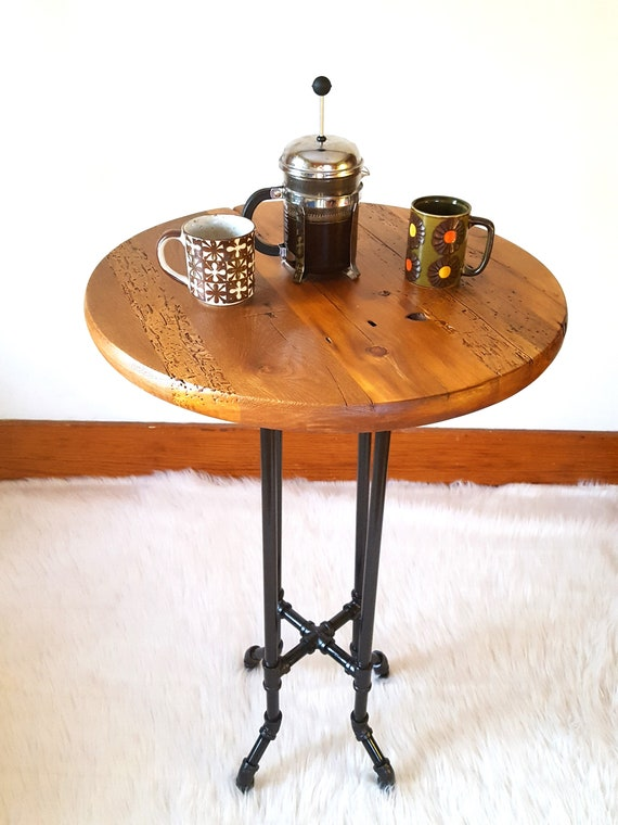 Bistro Table Reclaimed Wood Table Round Table Pub Cafe